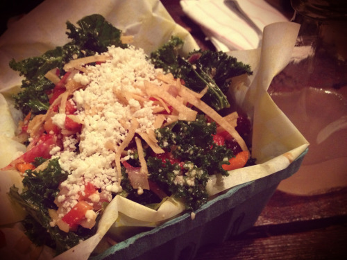 ** Antique Taco - ok, but not exceptional. The kale salad was pretty good and unique.