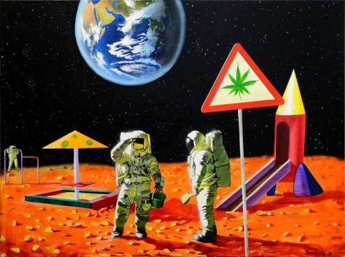 double-baked:  Land on the moon ;)