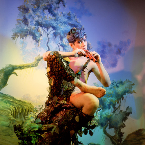 thenotoriousplayboy:  Pan » by James Bidgood Model: Bobby Kendall