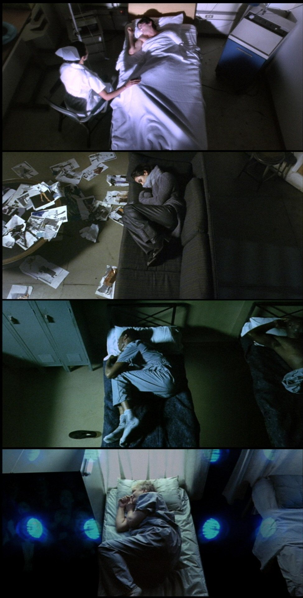 moviesinframes:  Requiem for a Dream, 2000 (dir. Darren Aronofsky)By perception-is-selection