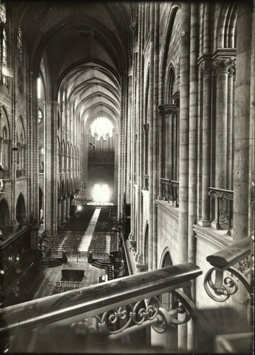 lostsplendor:   Notre Dame: Paris, France, 1903. (by Brooklyn Museum)