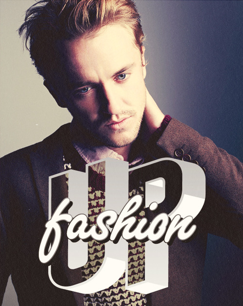 Tom Felton | 'Fashion Up' by ASOS [December 2012]