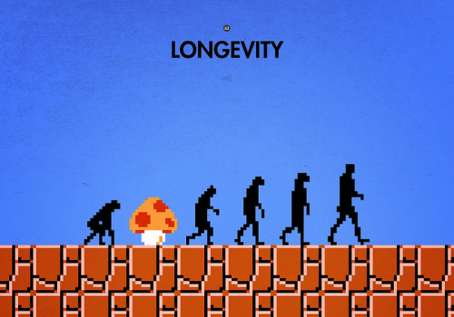 99 Steps of Progress: Longevity Created by Maentis Prints available at RedBubble.