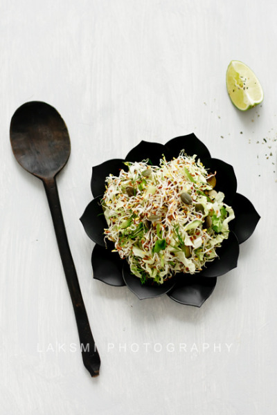 Alfalfa Salad by Laksmi W on Flickr.