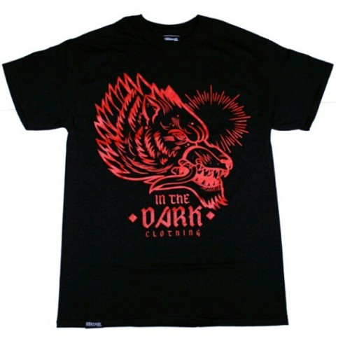 Midnight wolf unisex tshirt. Available now at www.inthedarkclothing.co.uk We ship worldwide. #inthedarkclothing #inthedark #itd #instagram #streetwear #tshirt #tshirts #wolf #black #red #tattoo #tattoos #bmx #bmxuk #skateboard #skate #mtb #scooter #motox #surf