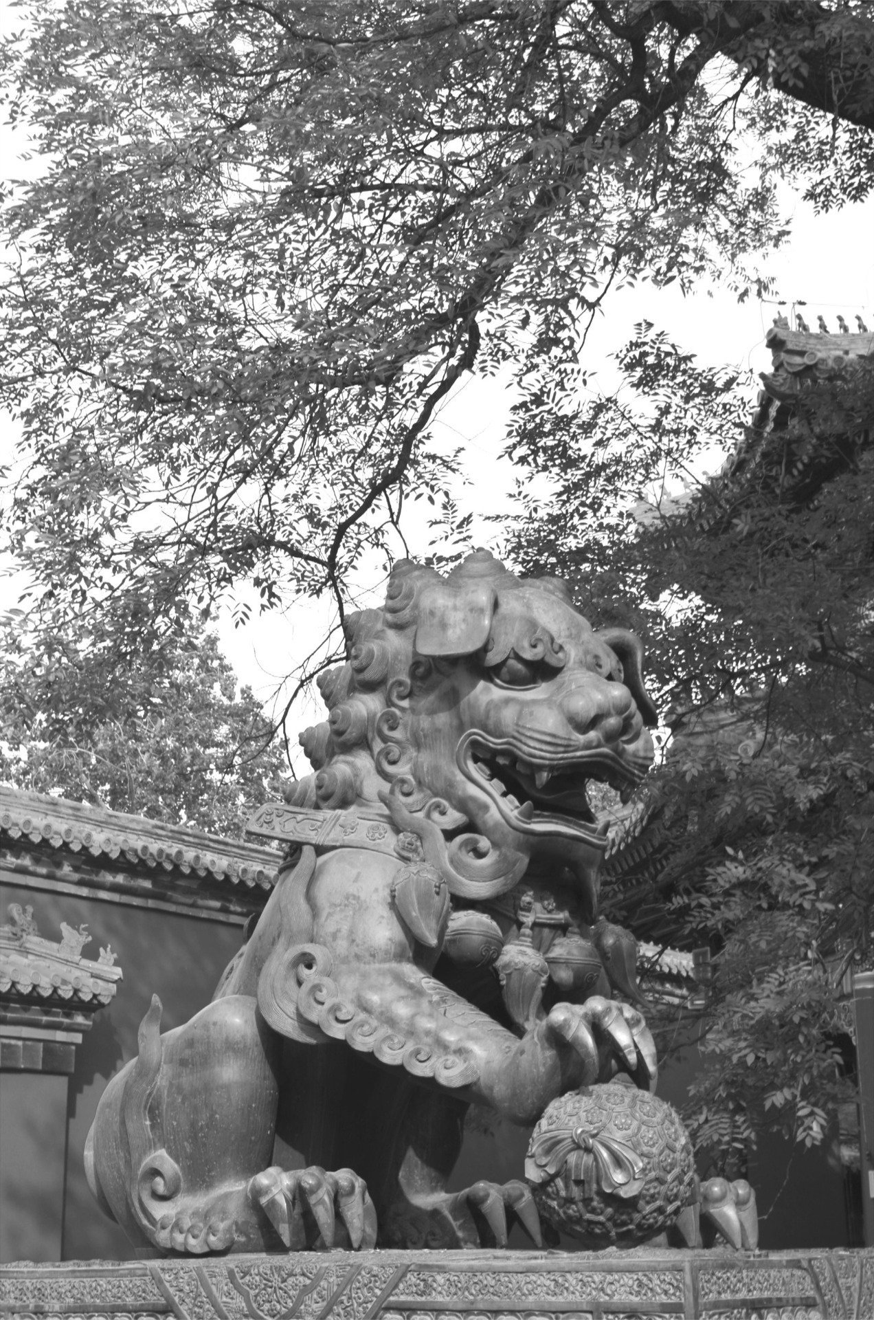 Dragons in ChinaLama Temple (雍和宮), Beijing, China  Photo: Jadiel Galicia