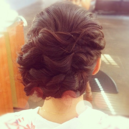 Wedding hair ready (at Be.NYLA)