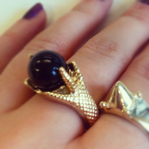 Bird claw #jewellery #ring
