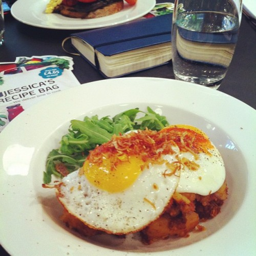 Beautiful Chorizo hash, I love the food here. #meal #restaurant  (at Kopapa Cafe & Restaurant)