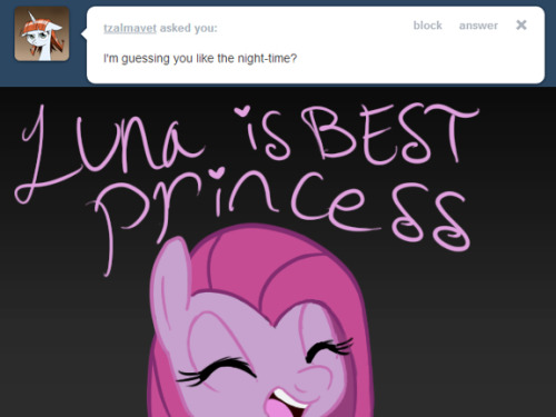 LUNA IS BEST PRINCESS ((that's a yes~ ))