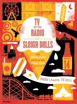 """Tv On The Radio & Sleigh Bells"" by Tad Carpenter"