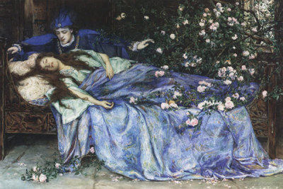 "amandaonwriting:  The Disturbing Origins of 10 Famous Fairy Tales by Emily Temple (reblogged from Flavorwire)  Sleeping BeautyIn one of the very earliest versions of this classic story, published in 1634 by Giambattista Basile as Sun, Moon, and Talia, the princess does not prick her finger on a spindle, but rather gets a sliver of flax stuck under her fingernail. She falls down, apparently dead, but her father cannot face the idea of losing her, so he lays her body on a bed in one of his estates.Later, a king out hunting in the woods finds her, and since he can't wake her up, rapes her while she's unconscious, then heads home to his own country. Some time after that, still unconscious, she gives birth to two children, and one of them accidentally sucks the splinter out of her finger, so she wakes up. The king who raped her is already married, but he burns his wife alive so he and Talia can be together. Don't worry, the wife tries to kill and eat the babies first, so it's all morally sound. Little Red Riding HoodIf you can believe it, the Brothers Grimm actually made this story a lot nicer than it was when they got their hands on it. In Charles Perrault's version, included in his 1697 collection Stories or Fairy Tales from Past Times: Tales of Mother Goose, there is no intrepid huntsman. Little Red simply strips naked, gets in bed, and then dies, eaten up by the big bad wolf, with no miraculous relief (in another version, she eats her own grandmother first, her flesh cooked up and her blood poured into a wine glass by our wolfish friend).Instead, Perrault gives us a little rhyming verse reminding us that not all wolves are wild beasts — some seduce with gentleness, sneak into our beds, and get us there. The sexual undertones are not lost on us — after all, the contemporary French idiom for a girl having lost her virginity was elle avoit vû le loup — she has seen the wolf. RumpelstiltskinThis story is pretty simple: a miller's daughter is trapped and forced to spin straw into gold, on pain of death. A little man appears to her, and spins it for her, but says that he will take her child in payment unless she can guess his name. In the Grimm version, when the maiden finally figures out Rumpelstiltskin's name, he reacts rather badly: 'The Devil told you that! The Devil told you that!' the little man yelled, and in his fury he stamped his right foot so hard that he drove it into the ground right up to his waist. Then he took hold of his left foot with both hands and tore himself in two."" Ick. CinderellaHere, Perrault is much nicer than Grimm — in his version, the two cruel stepsisters get married off to members of the royal court after Cinderella is properly married to the prince. In the Grimm story, not only do the stepsisters cut off parts of their feet in order to fit into the glass slippers (surprise, surprise, the blood pooling in their shoes gives them away), but at the end, they have their eyes pecked out by doves. Just for good measure. Snow WhiteFirst of all, in the original 1812 Grimm version of this tale, the evil Queen is Snow White's actual mother, not her stepmother. We don't know, but that makes it a lot more terrifying to us. The Disney version also left out the fact that the Queen sends the huntsman out to bring back Snow White's liver and lungs, which she then means to eat. And the fact that she's actually not in a deep sleep when the prince finds her — she's dead, and he's carting off her dead body to play with when his servant trips, jostles the coffin, and dislodges the poison apple from SW's throat.Most notable, however, is the punishment the Grimms thought up for her. When the queen shows up at Snow White's wedding, she's forced to step into iron shoes that had been cooking in the fire, and then dances until she falls down dead. Hansel and GretelThe version of the story we know is already pretty gruesome — the evil stepmother abandons the children to die in the forest, they happen upon a cannibalistic witch's cottage, she fattens them up to eat, they outwit and kill her and escape. The Grimm version is basically the same, but in an early French version, called The Lost Children, the witch is the Devil, and the Devil wants to bleed the children on a sawhorse. Of course, they pretend not to know how to get on, so the Devil has his wife (who tried to help the poor kids earlier in the story) show them. They promptly slit her throat, steal all the Devil's money, and run off. RapunzelRapunzel, Rapunzel, let down your hair. Well, in the Grimm version, she does, a little too often, to a prince, and winds up pregnant, innocently remarking to her jailer witch that her clothes feel too tight.The witch, not to have any competition, chops off Rapunzel's hair and magically transports her far away, where she lives as a beggar with no money, no home, and after a few months, two hungry mouths to feed. As for the prince, the witch lures him up and then pushes him from the window. Some thorn bushes break his fall, but also poke out his eyes. For all this extra bloodshed, however, there's still a happy ending. Goldilocks and the Three BearsIn this tale's earliest known incarnation, there was no Goldilocks — only the three bears and a fox called Scrapefoot, who enters the three bears' palace, sleeps in their beds and messes around with their salmon of knowledge. In the end, she either gets thrown out of the window or eaten, depending on who's telling the tale. Interestingly, it has been suggested that the use of the word ""vixen"" to mean female fox is how we got to Goldilocks, by means of a crafty old woman in the intervening story incarnations. The Little MermaidWe all know the story of the little mermaid: she sells her voice for a pair of legs, flops around for a bit, then wins her prince's heart, right? Well, not exactly. In Hans Christian Andersen's original tale, she trades tongue for legs all right, but part of the deal is that every step will be nearly unbearable, like walking on sharp swords, and the day after the prince marries someone else, she'll die and turn into sea foam.Hoping to win the prince's heart, she dances for him, even though it's agony. He claps along, but eventually decides to marry another. The mermaid's sisters sell their hair to bring her a dagger and urge her to kill the prince and let his blood drip onto her feet, which will then become fins again. She sneaks up on him, but can't bring herself to do it. So she dies, and dissolves into foam. Later, Andersen changed the ending, so that the mermaid becomes a ""daughter of the air"" — if she does good deeds for 300 years, she can get a soul and go to heaven. Many scholars find this rubbish. The Frog PrinceTraditionally the very first story in the Grimm Brothers' collection, this story is simple enough: the princess kisses the frog, out of the goodness of her heart, and he turns into a prince. Or, if you're reading the original version, the frog tricks the resentful princess into making a deal with him, follows her home, keeps pushing himself further and further onto her silken pillow, until finally she hurls him against the wall. Somehow, this action is rewarded by his transformation into a prince, but it's not even the most violent. In other early versions, she has to cut off his head instead. That's rather far off from the traditional kiss, don't you think?"