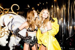 swe-at:  Behati Prinsloo and Lily Donaldson