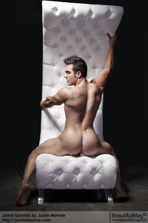 Musical Chairs:  Rear View  Jamie Dominic photographed by Justin Monroe for BeautifulMag