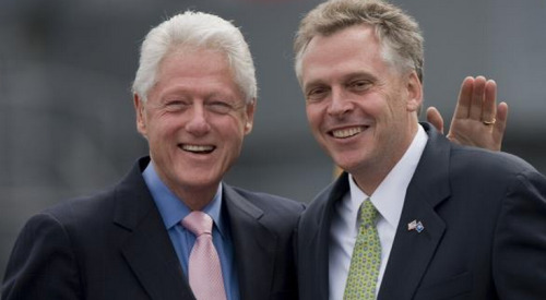 Terry McAuliffe to Run for Governor of Virginia McAuliffe — a veteran political adviser and former chair of the Democratic National Committee — has long been mulling a run for governor, but said he would only enter the race if Senator Mark Warner decided not to run. McAuliffe's decision, however, doesn't necessarily mean that Warner won't run. If fact, since Election Day, rumors have only heightened about Warner — a former Virginia governor and current U.S. senator — entering the race.