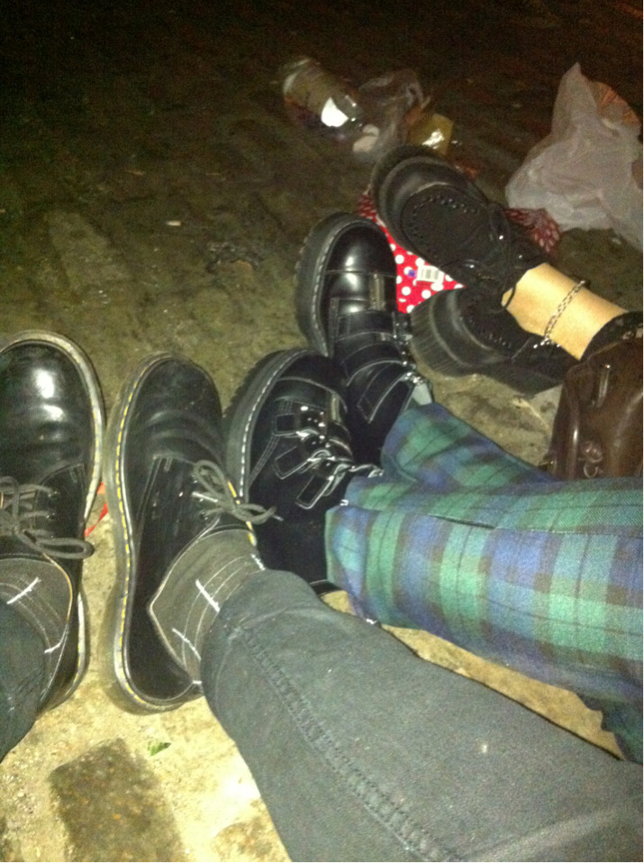 Pride myself in mine and my friends choice of footwear