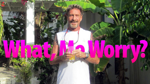 Fascinating article on John McAfee, founder of the McAfee Antivirus company, and how he's become a proverbial Colonel Kurtz in the backwoods of Belize.