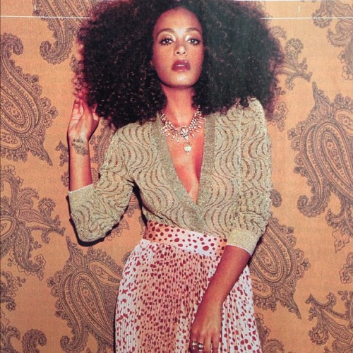 dannijo:  smokeshow @solangeknowles in this month's @nymag decked in Dannijo #MazatiNecklace #JacindaRing