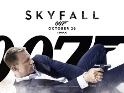 """Impressively, Skyfall is a movie pulled from this moment in history, while encompassing everything that made James Bond a long-lasting character. It's one of the best Bond entries of all time, a heart-pounding action flick from start to finish and one of the best movies of the year."" Read the full review here: http://bit.ly/Uzum6L"