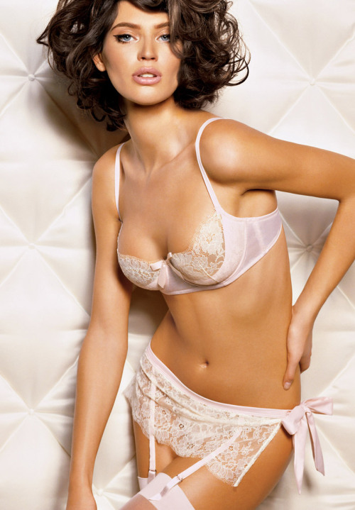 Another example of the kind of bra I was talking about this morning, a scoop type style. My feelings on sheer lace are generally known on here, so I am not sure I am crazy about this for me, but this is the style I mean… now if anyone can find an example where the scoop is lace and cups solid (especially if linked to some place to buy such styles in larger cup sizes), I will be a happy girl.