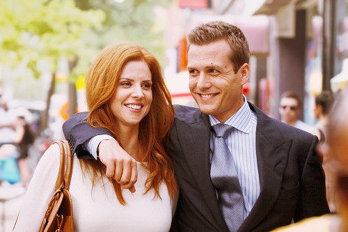jazfor:  If I could have it my way, Donna and Harvey would just get married and have each other's babies… they are my ultimate favourite