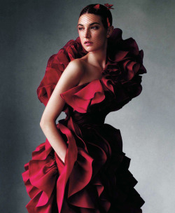 rockinnrollin:  Jacquelyn Jablonski by Victor Demarchelier