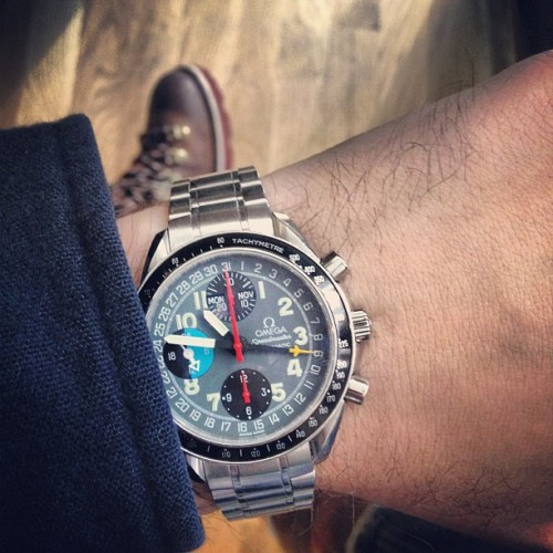 Wearing the one that started  it all today.  (at HODINKEE Headquarters)