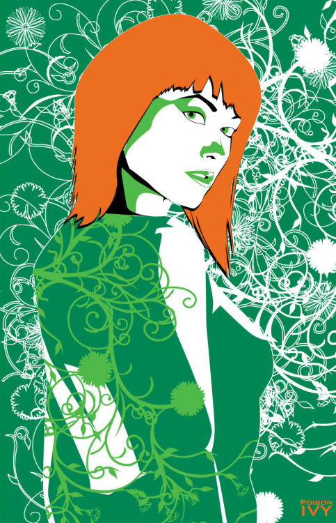 Poison Ivy // artwork by at9desing (2012)