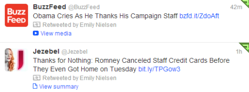 emilyisobsessed:  the election in two tweets