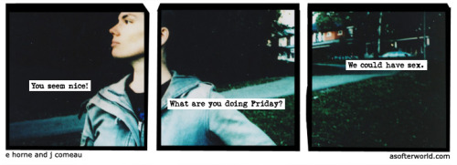 softerworld:  A Softer World: 893 (Why do we have to wait til friday?) buy this print