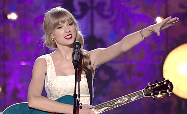 "Get a sneak peek of Taylor Swift's performance of ""Red"" from her upcoming VH1 Storytellers, Sunday November 11 at 11/10c."