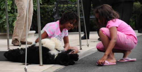 Just when you thought the Obama girls couldn't get any cuter….