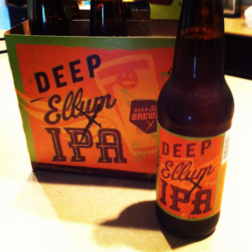 Deep Ellum IPA now in bottles. Drink Local!