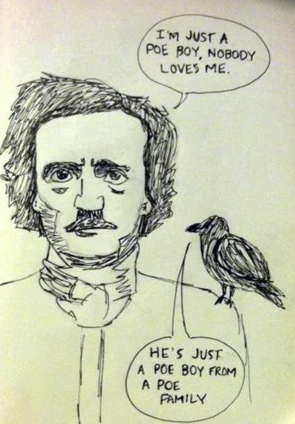 doubledaybooks:   Edgar Allen Poe + Queen