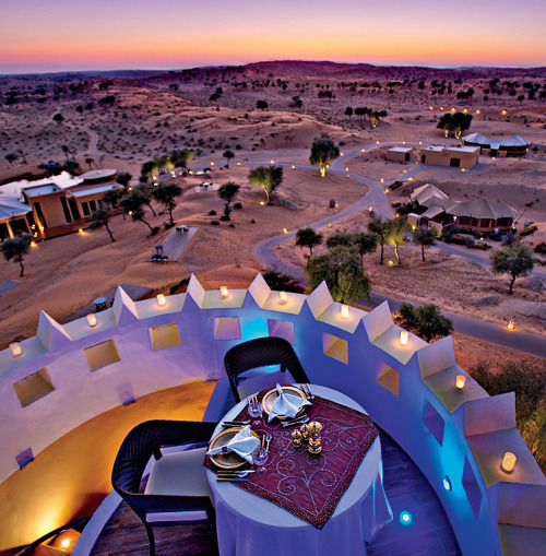 A Guide to Glamping Around the World | Banyan Tree Al Wadi, Ras Al Khaimah, United Arab Emirates