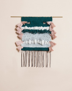 whilethecloudsspread:  Mimi Jung weaving