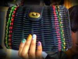 #FlashBack Friday DIY RASTA THREAD BAG