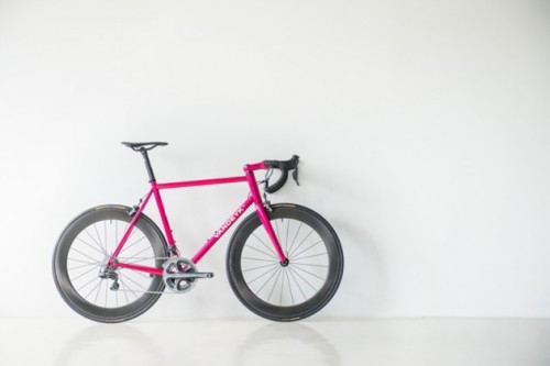 Vandeyk 'Purple Blast' High Performance Bicycle