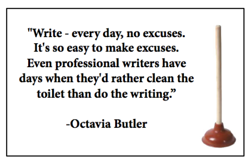 Octavia Butler knows what she's talking about.
