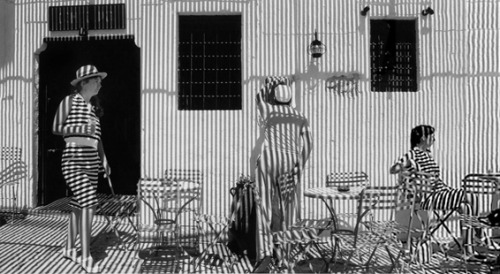 Harold Feinstein, Stripes and Shadows, Paris, 1987  Harold Feinstein | A Retrospective on view at Panopticon Gallery through January 13, 2013