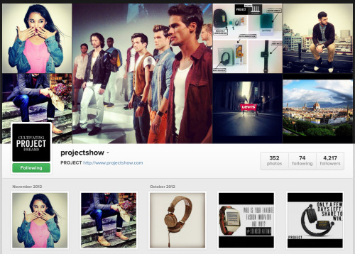 Let's socialize! Instagram has rolled out its new online profiles, so you can follow along from your computer as well.