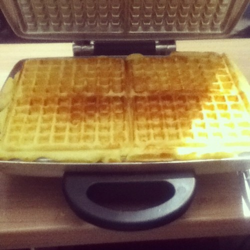 Making some #waffles! Haha #good #food #baking #instafood #delicious #yummy #yum
