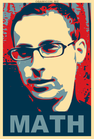 Can't get enough of Nate Silver?  Here's his interview on the Daily Show, and on the Colbert Report (right before the election day)… via hulu:  Have you been hearing the name Nate Silver a lot and you've been wondering what's the hubbub, Bub? Check out this interview with the Über-statistician and mathlete…and start working out your mind.