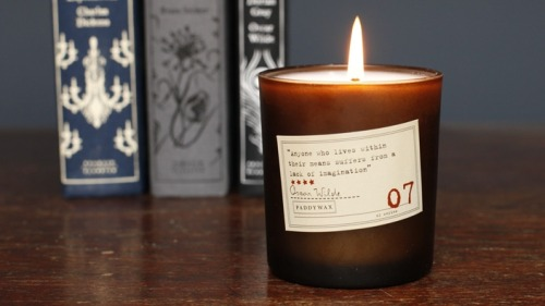 ITEM OF THE DAY: ITEM OF THE DAY: THE LIBRARY COLLECTION BY PADDYWAX CANDLESby Kathryn and Amanda  http://bit.ly/Qun74d