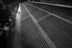 Black and White b&w perspective paris 2012 france Stairs minimal noir et blanc november bnw black&white ricoh quai francois mauriac quai escalier escaliers noir&blanc ricohgrd4 ricoh GRDIV grd GRD4 GRDIV bibliotheque jeanne d'arc ile de france