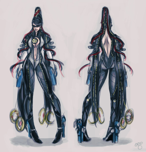 pandatails:    just what I think Bayonetta's outfit might look like in the upcoming game.