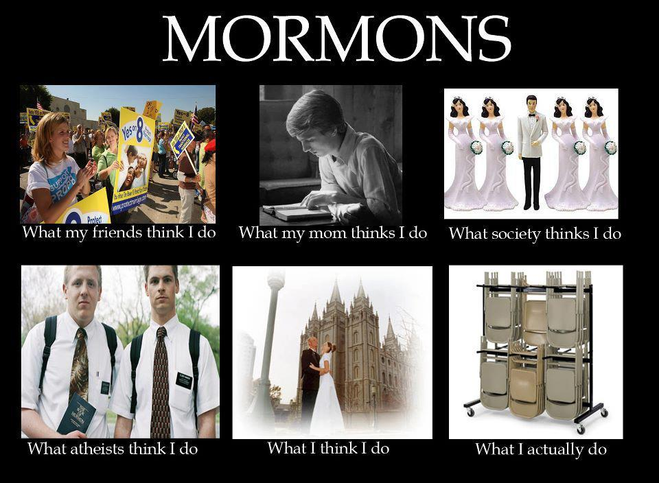 fieryattic:  Mormons. This is still the most accurate thing I've ever seen.   So true!