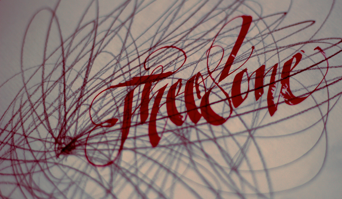 Calligraphi.ca- Pencil and pilot parallel pen by Theosone.