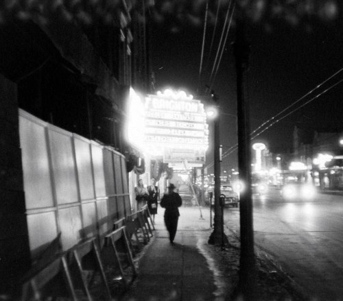 The Brighton Theater, Archer and 42nd, 1956, Chicago. The Brighton has a dubious history; it was the last place the Grimes sisters were seen alive: http://en.wikipedia.org/wiki/Murder_of_the_Grimes_sisters The murder of these girls remains unsolved and is cited as the moment innocence died in Chicago…
