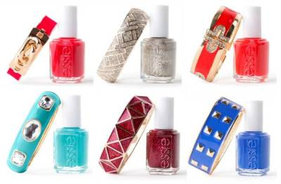 glamour:  Today in Awesome: Essie x Baublebar.